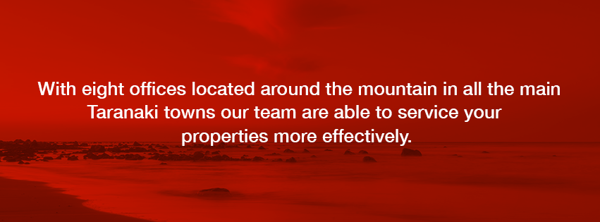 Property Investing in Taranaki,we have 8 offices located around the mountain